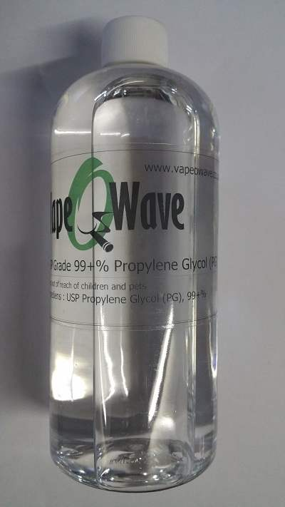 500ml Propylene Glycol (PG) USP / BP Grade 99+% Purity