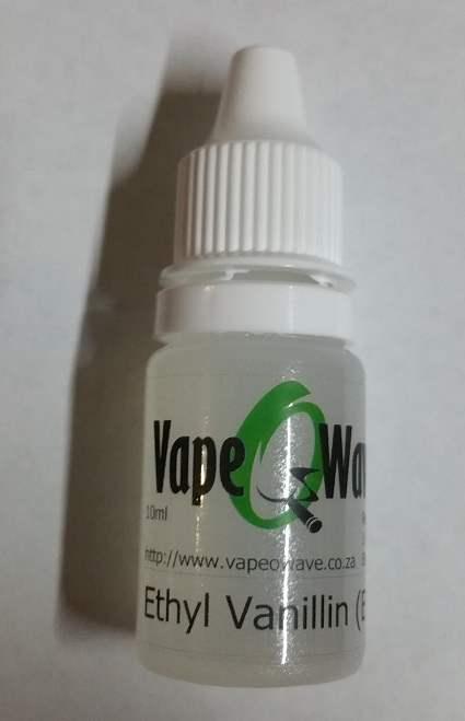 10ml Ethyl Vanillin (EV) in USP 99.8%+ Propylene Glycol (PG) - Eliquid flavor enhancer