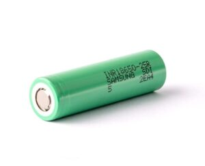 Samsung 25R 2500mAh 20A 3.7v INR LiMn 18650 Battery - High Drain / High Amp Rechargeable