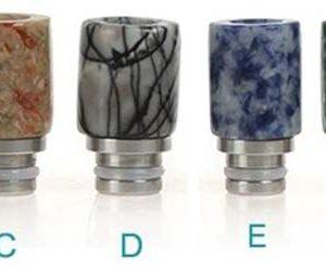 Multi-Color Jade Acrylic Drip Tip for 510 Threaded Subohm Tanks - Less Heat Transfer