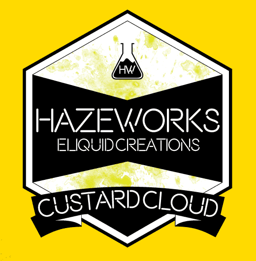 30ml Custard Cloud Eliquid - 0MG-0