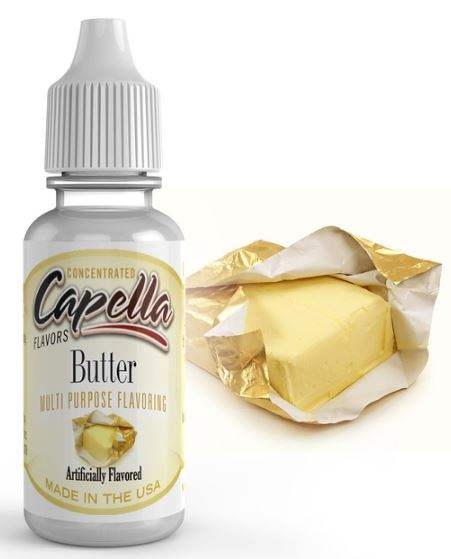 Capella 10ml Concentrated Golden Butter Flavor for Eliquid / Ejuice DIY / Self Mixing