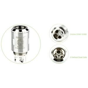 Single SMOK TFV4 TF-S6 Sextuple Coil Head (6x Sub-Ohm Coil) 0.40 Ohm
