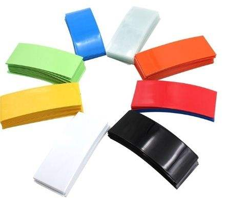 5-Pack 18650 Battery Sleeve PVC Heat Shrinkable Tube Wrapping-0
