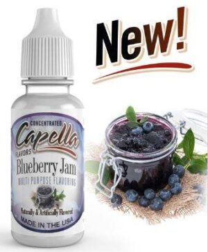Capella 10ml Concentrated Blueberry Jam Flavor for Eliquid / Ejuice DIY / Self Mixing