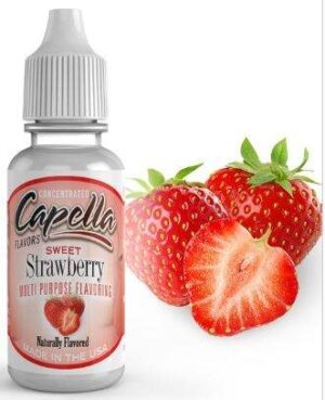 Capella 10ml Concentrated Sweet Strawberry Flavor for Eliquid / Ejuice DIY / Self Mixing