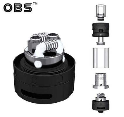 OBS Crius V3 RTA - 4.2ml juice capacity - Stainless Steel 3