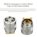 Eleaf Replacement Coil Head ES Sextuple-0.17ohm Head for Melo 300 - Single coil -0