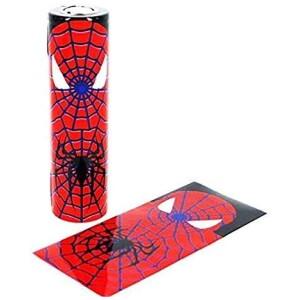 18650 Superhero battery wraps - Spiderman Single wrap-0
