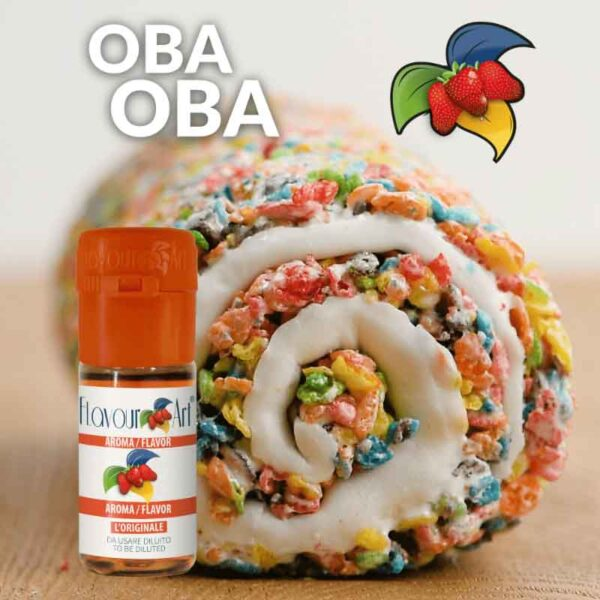 FlavourArt Oba Oba   10ml Concentrated Flavor for Eliquid   Self Mixing
