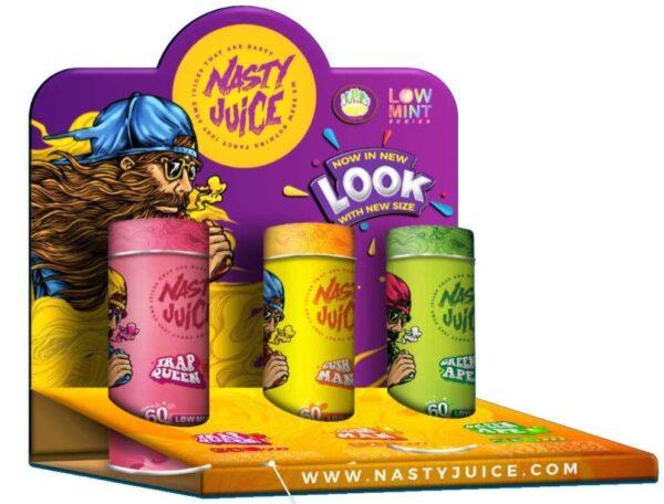 Nasty E-Juice 60ml - Green Ape (Low Mint)