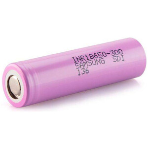 18650 Samsung 3000mAh INR18650-30Q High Discharge Flat Top
