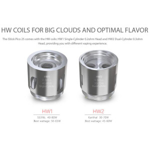 Eleaf HW2 Dual-Cylinder coil for Ello Mini XL / Ello Mini - 0.3ohm -Single Coil-0