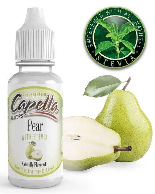 Capella 10ml Concentrated Pear with Stevia (Sweet Pear) Flavor for Eliquid / Ejuice DIY / Self Mixing