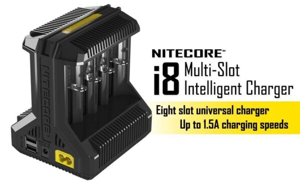 Nitecore I8 Intellicharger - 8 Bay-0
