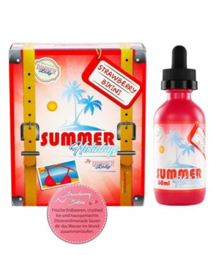 Summer Holidays by Dinner Lady - Strawberry Bikini - 60ml (3mg)-0