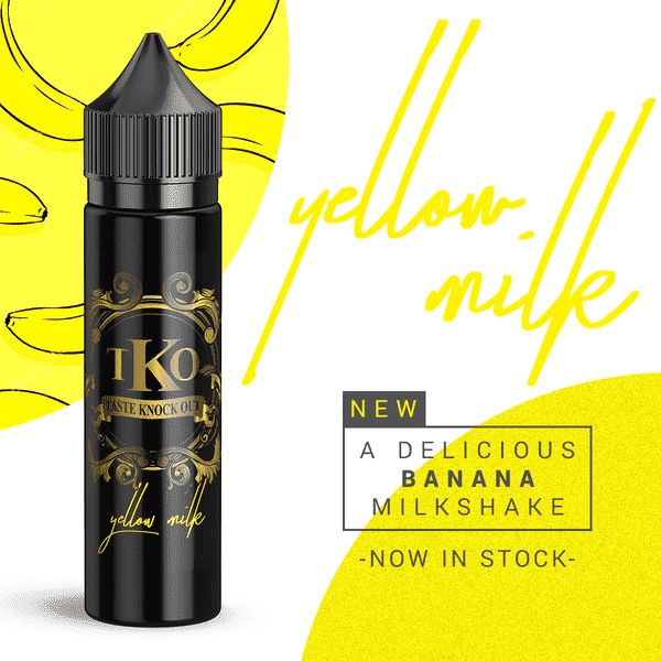 TKO - Yellow Milk - 60ml-0