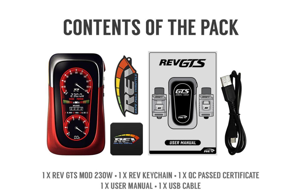 Eson REV GTS | 230w Box Mod