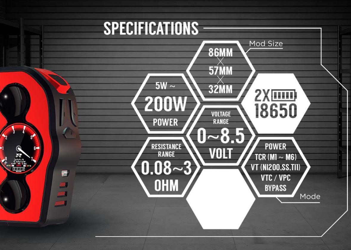 ESON REV Nitro | 200W Box Mod