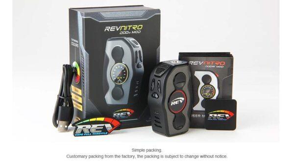 ESON REV Nitro 200W Power/VT/TCR/Bypass/Preheat Mod -2363