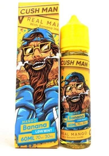 Nasty Cush Man – Mango Banana (Low Mint) 60ml