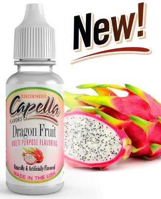 Capella 10ml Concentrated Dragon Fruit Flavor for Eliquid / Ejuice DIY / Self Mixing
