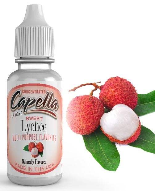 Capella 10ml Concentrated Sweet Litchi (Lychee) Flavor for Eliquid / Ejuice DIY / Self Mixing
