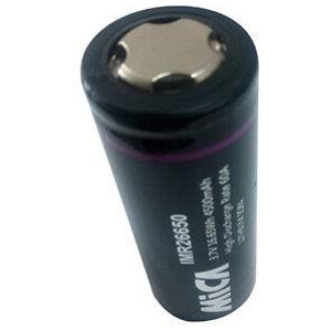 Mica IMR Lithium-ion 26650 3.7v 4500mAh 60A Single Cell-0