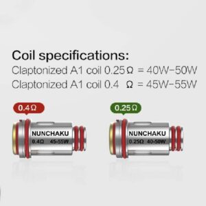 Uwell - Nunchaku Replacement Coils - 0.4ohm-0