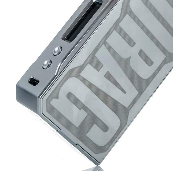 VooPoo DRAG 157W TC Box mod with Gene Chip - Silver Frame-2590