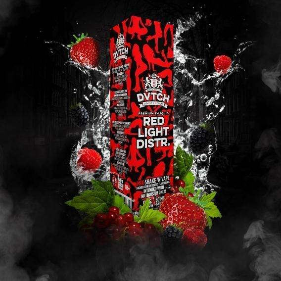 DVTCH Amsterdam - Red Light District 3MG (60ml)-0