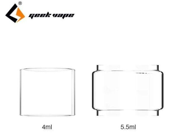 GeekVape Replacement Glass Tube for Zeus Dual 5.5ml - Bubble Glass-3197