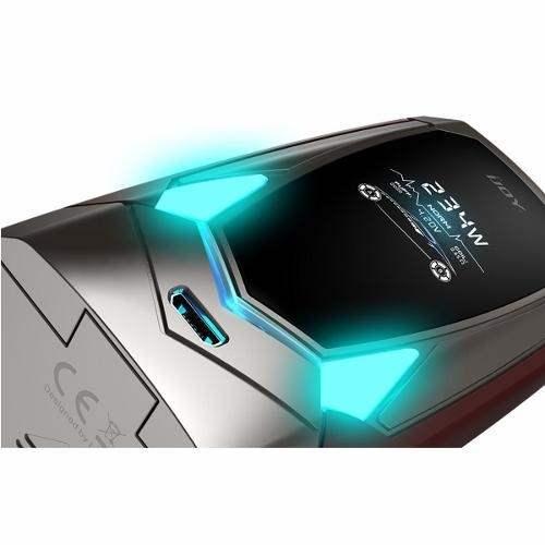 IJOY AVENGER 270 234W VOICE CONTROL BOX MOD + 2x 20700 Cells (6000mAH)-2718