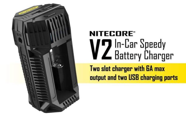 Nitecore V2 In-car 3A Quick Charger-2753