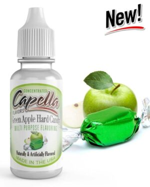 Capella 10ml Concentrated Green Apple Hard Candy Flavor for Eliquid / Ejuice DIY / Self Mixing-0
