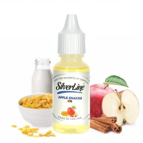 Capella 10ml Concentrated Apple Snacks Flavor for Eliquid / Ejuice DIY / Self Mixing-0