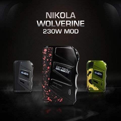 NIKOLA WOLVERINE 230W BOX MOD-2890