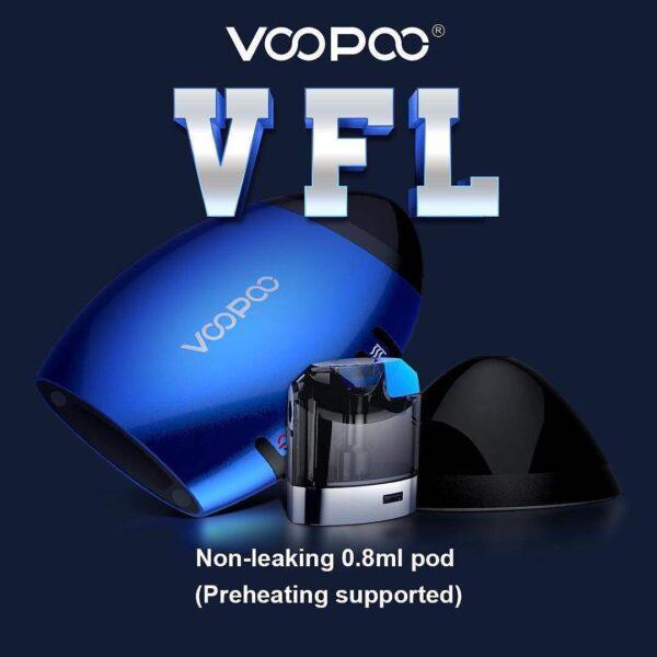 Voopoo VFL Refillable Pod System Kit 650mah-2883