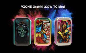 VZONE Graffiti 220W TC Mod-0