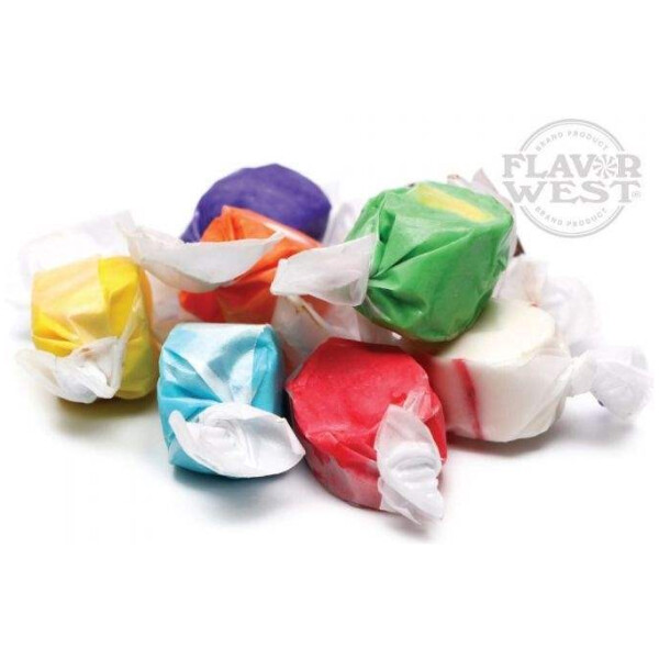 Flavor West 10ml Concentrated Salt Water Taffy Flavor for Eliquid / Ejuice DIY / Self Mixing-0