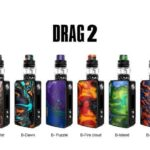 VOOPOO Drag 2 177W TC Kit with UFORCE T2-0