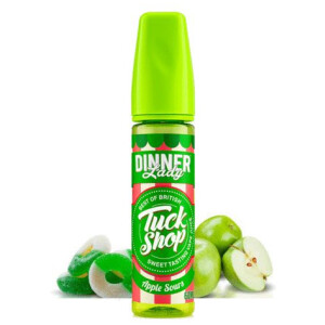 Tuck Shop by Dinner Lady Apple Sours | 60ml 3mg