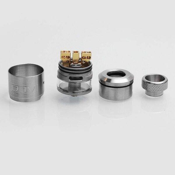 DEJAVU 2ml RDTA - Silver-3046