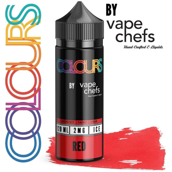 Colours By Vape Chefs Red 120ml Bottle 2MG -0