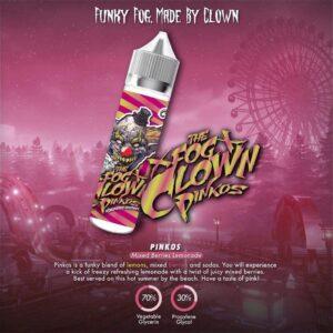 Gallo Pinkos Mixed Berries Lemonade by The Fog Clown E Liquid 60ml -0