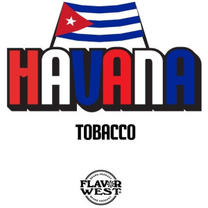Flavor West 10ml Concentrated Havana Tobacco (Cuban Cigar) Flavor for Eliquid / Ejuice DIY / Self Mixing-0