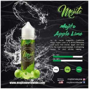 Mojito Apple Lime 60ml - 3MG-0