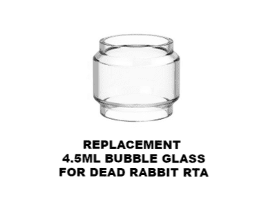 Hellvape Dead Rabbit RTA Replacement Bubble Glass-0