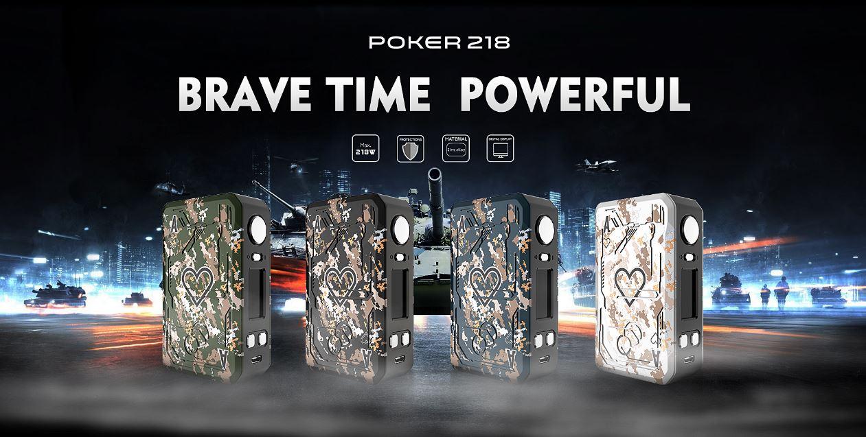Tesla Poker 218W | Box Mod