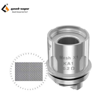 GeekVape IM and Super Mesh Coil for Aero/Shield/Cerberus - Mesh 0.2ohm-0
